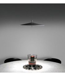 LED dimmable steel pendant lamp in 2 finishes 2700K - Pla – Milan