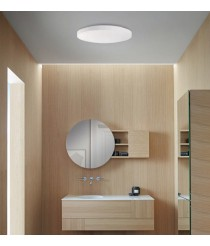 Metal and double layer glass ceiling lamp IP 44 – Moon – ACB Iluminación
