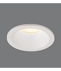 White metal recessed ceiling lamp Ø 8.5 cm - Nork - ACB Iluminación