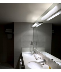 Wall light available in different finishes, sizes and light sources - Opal - Pujol Lighting