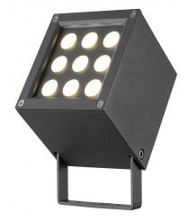 IP65 LED outdoor floodlight 3000K - Barni - Dopo - Novolux