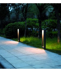 IP54 LED outdoor post light 65 cm - Sibila - Dopo - Novolux