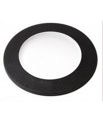 IP67 black resin outdoor recessed light Ø 12 cm - Belgrado 12 - Dopo - Novolux