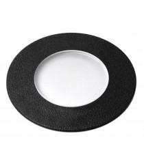 IP67 black resin outdoor walk over light Ø 9,2 cm - Belgrado 9 - Dopo - Novolux