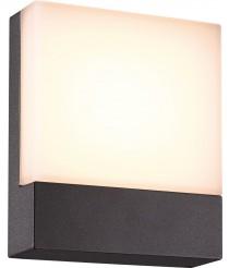 IP54 LED SMD anthracite aluminum outdoor wall light - Cenadi - Dopo - Novolux