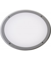 LED SMD grey technopolymer outdoor wall light - Delfi - Dopo - Novolux