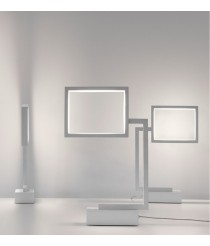 LED table lamp in steel available in several finishes - Wally - Pujol Iluminación
