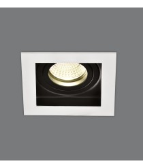 Recessed white metal ceiling with 2 lights - San - ACB Iluminación