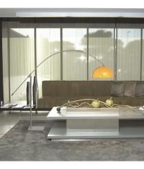 Modern salon floor lamp in 4 colours - Retro - Pujol Iluminación