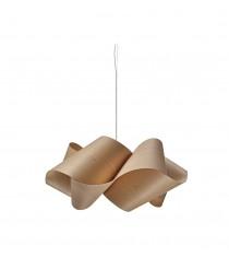 Lámpara colgante de madera en haya natural 75 cm - Swirl - Lzf - Disponibilidad inmediata