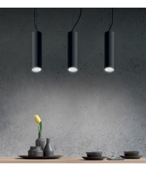 LED pendant light in white or black 3200K - Studio - ACB Iluminación