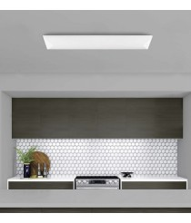 LED rectangular metal and acrylic ceiling lamp – Urko – ACB Iluminación