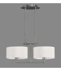 Pendant lamp with 2 adjustable lights - Volta - ACB Iluminación