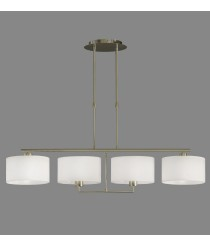 Pendant lamp with 4 adjustable lights - Volta - ACB Iluminación