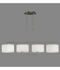 Pendant lamp with 4 adjustable lights - Volta - ACB Iluminación
