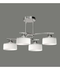 Glass and metal ceiling lamp – Xola – ACB Iluminación