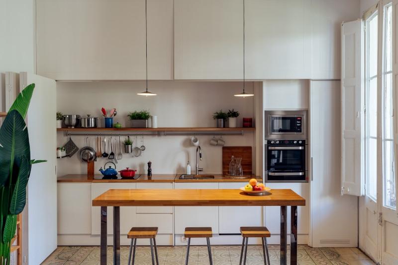 Pla - lámpara colgante de cocina de Milan Iluminación