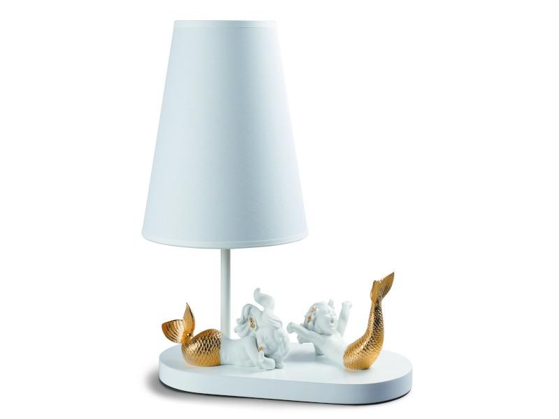 Lámpara de mesa de porcelana infantil de Lladró