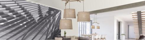 Cómo iluminar el interior de una casa rústica