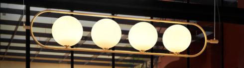 Tendencias en lámparas doradas